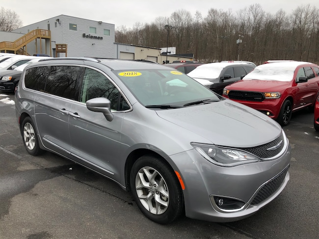 Certified Pre-Owned 2018 Chrysler Pacifica Touring L Minivan For Sale Carmichaels, PA