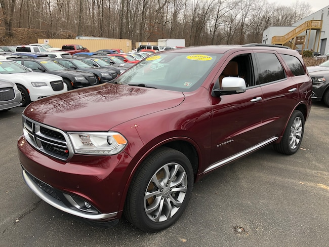 Certified Pre-Owned 2018 Dodge Durango Citadel Anodized Platinum AWD SUV For Sale Carmichaels, PA