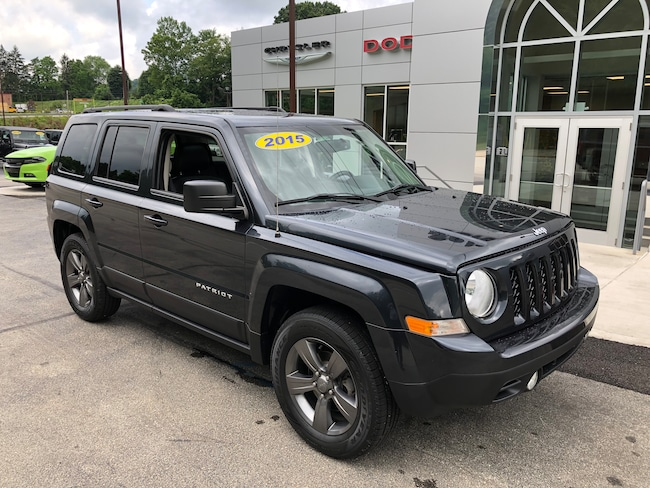 Certified Pre-Owned 2015 Jeep Patriot High Altitude 4X4 For