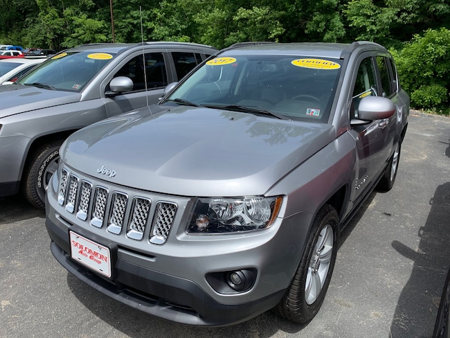Certified Pre-Owned 2017 Jeep Compass Latitude 4x4 SUV For Sale Carmichaels, PA