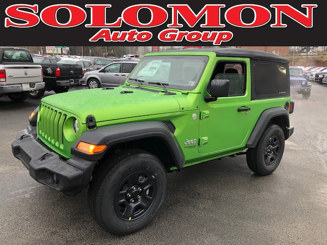 New 2019 Jeep Wrangler SPORT 4X4 Sport Utility For Sale/Lease Carmichaels PA