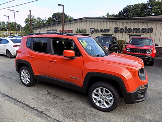New 2018 Jeep Renegade LATITUDE 4X4 Sport Utility For Sale/Lease Carmichaels PA