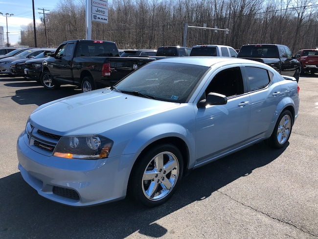 Used 2013 Dodge Avenger Rallye V6 Sedan For Sale Carmichaels, PA