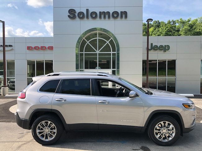 New 2019 Jeep Cherokee LATITUDE PLUS 4X4 Sport Utility For Sale/Lease Carmichaels PA