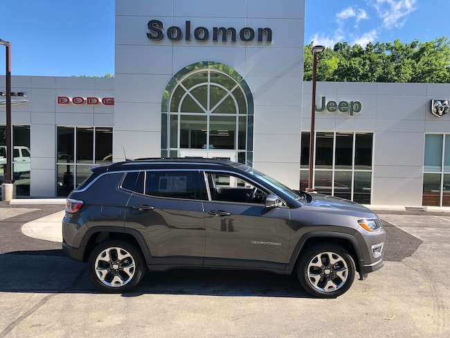 New 2019 Jeep Compass LIMITED 4X4 Sport Utility For Sale/Lease Carmichaels PA
