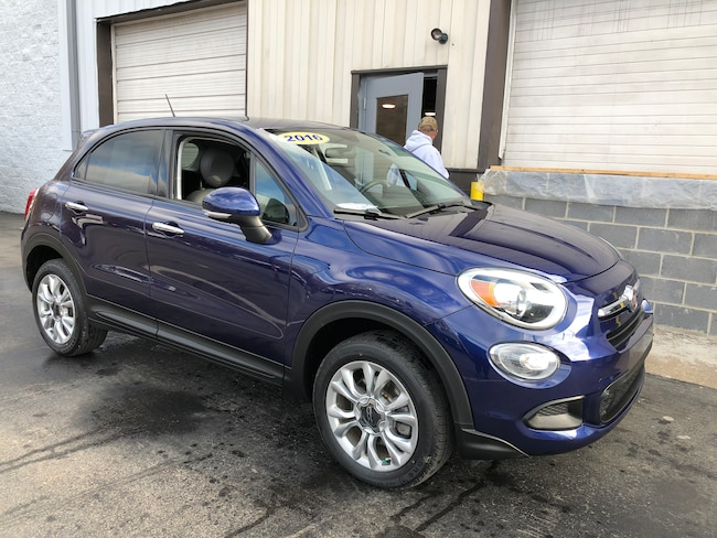 Used 2016 FIAT 500X Easy AWD SUV For Sale Carmichaels, PA