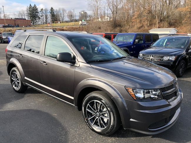 New 2018 Dodge Journey SE Sport Utility For Sale/Lease Carmichaels PA