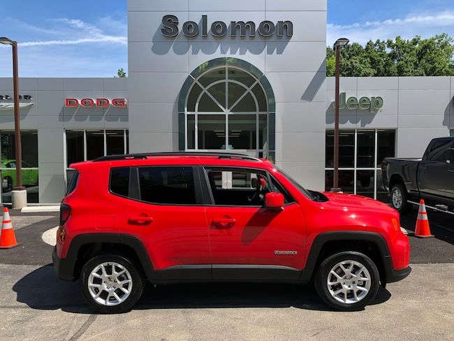 New 2019 Jeep Renegade LATITUDE 4X4 Sport Utility For Sale/Lease Carmichaels PA