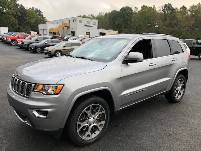 Certified Pre-Owned 2018 Jeep Grand Cherokee Sterling Edition 4X4 SUV For Sale Carmichaels, PA