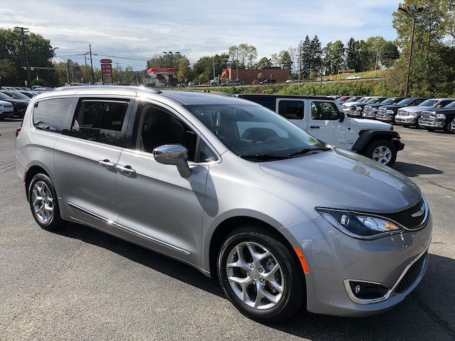 Certified Pre-Owned 2018 Chrysler Pacifica Limited Passenger Van For Sale Carmichaels, PA