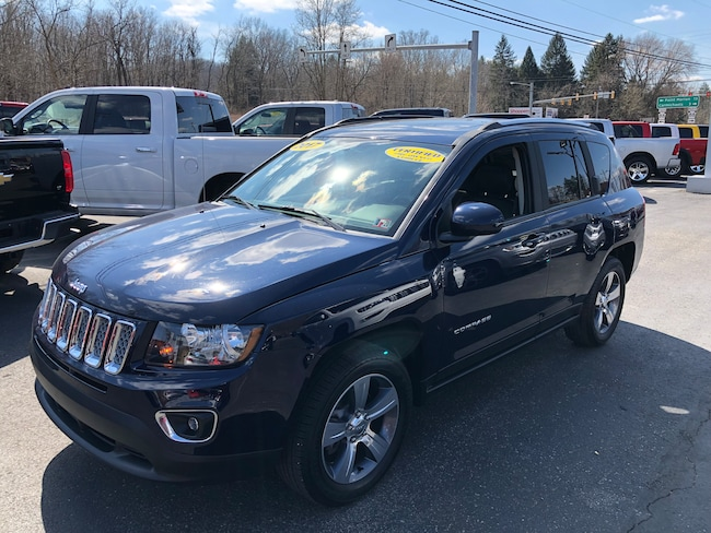 Certified Pre-Owned 2017 Jeep Compass High Altitude 4X4 SUV For Sale Carmichaels, PA