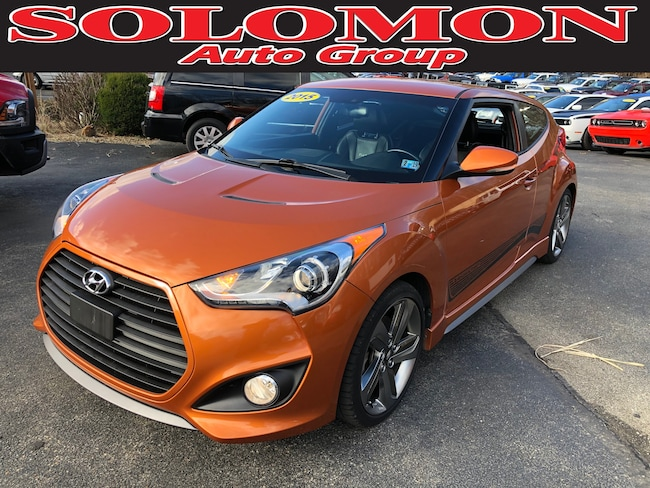Used 2015 Hyundai Veloster Turbo Hatchback For Sale Carmichaels, PA