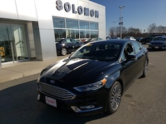2018 Ford Fusion Titanium FORD CERTIFIED Sedan