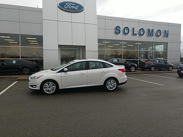 2018 Ford Focus Titanium FORD CERIFIED Sedan