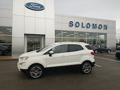 2018 Ford EcoSport Titanium FORD CERTIFIED SUV