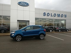 2018 Ford EcoSport Titanium FOED CERTIFIED SUV