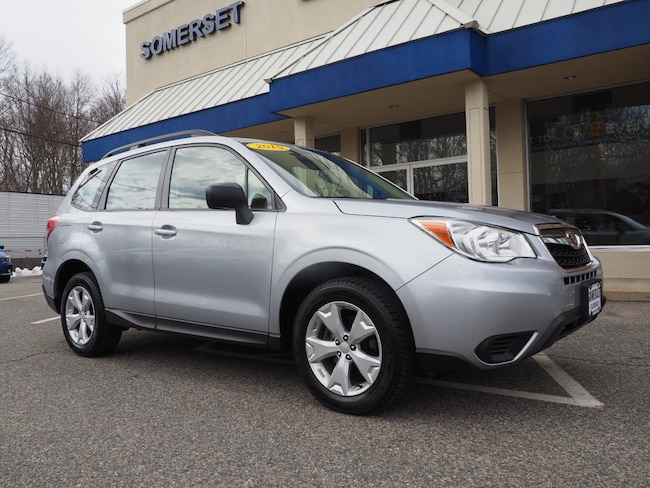 Used 2015 Subaru Forester 2.5i (CVT) SUV in Somerset, MA