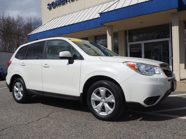 Used 2016 Subaru Forester 2.5i Premium SUV in Somerset, MA