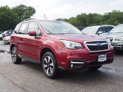 2018 Subaru Forester 2.5i Limited with Eyesight + Nav + Starlink SUV JF2SJARCXJH445567 for sale in Somerset, MA at Somerset Subaru