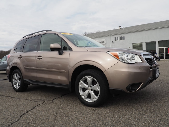 Used 2016 Subaru Forester 2.5i Limited AWD 2.5i Limited  Wagon in Somerset, MA