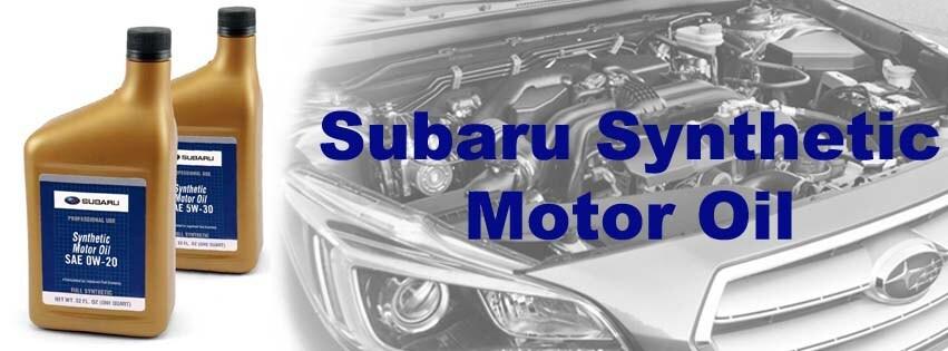 Subaru Synthetic Oil | Sommer's Subaru GMC Buick