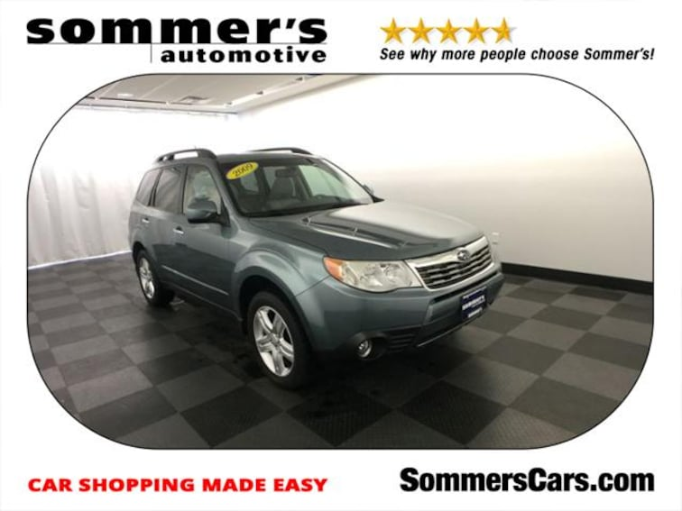 2009 Subaru Forester 4dr Auto X w/Prem/All-Weather SUV near Milwaukee