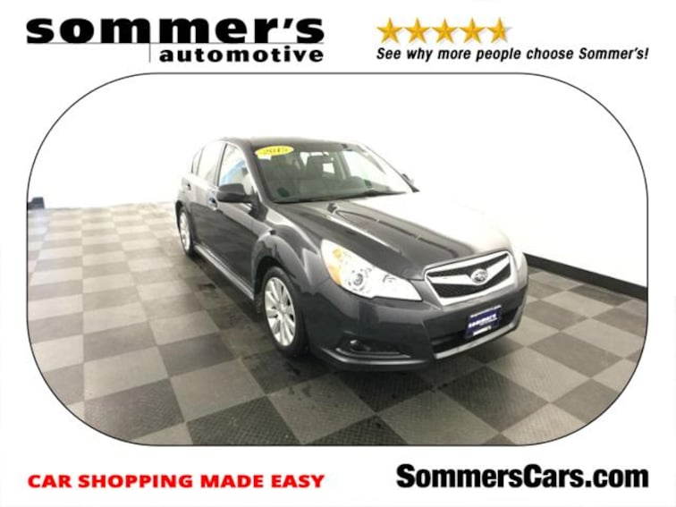 2011 Subaru Legacy 4dr Sdn H4 Auto 2.5i Ltd Pwr Moon/N Sedan near Milwaukee