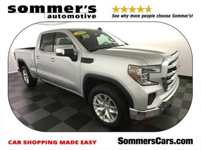 2019 GMC Sierra 1500 4WD Double Cab 147 SLE Truck Double Cab