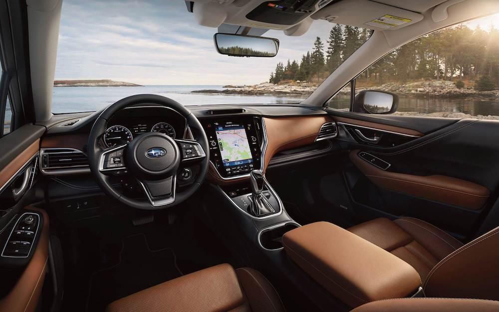 2021 Subaru Outback leather interior