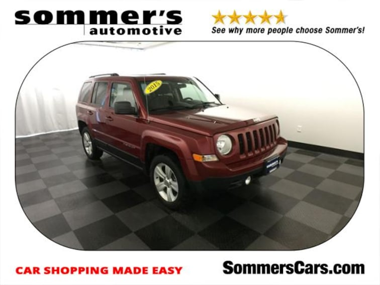 used 2015 jeep patriot 4wd 4dr latitude for sale near milwaukee