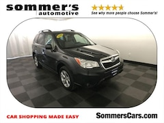 Certified Pre-Owned 2016 Subaru Forester 4dr CVT 2.5i Limited Pzev SUV JF2SJARC8GH499040 For sale in Mequon WI, near Milwaukee WI