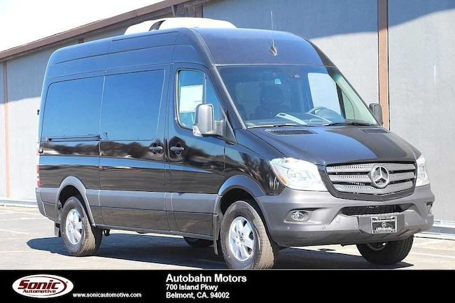 e452e6ea698 New 2018 Mercedes-Benz Sprinter 2500 Standard Roof V6 Van in Belmont
