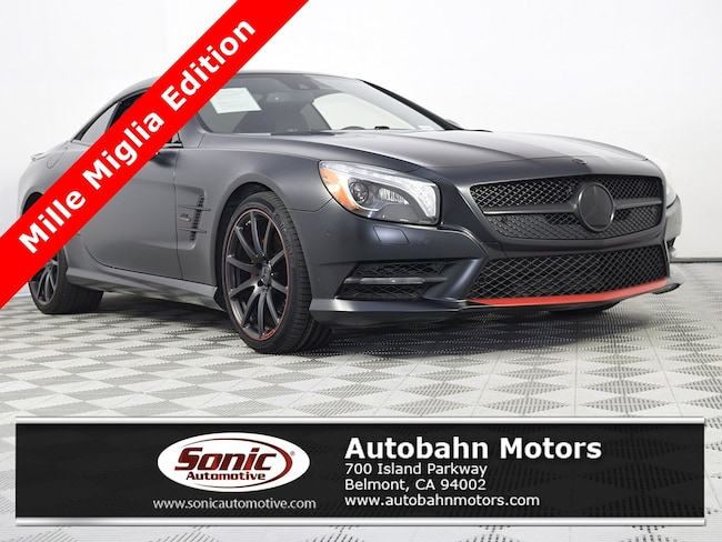 75b8267c5a Certified Used 2016 Mercedes-Benz SL-Class For Sale in Belmont CA ...