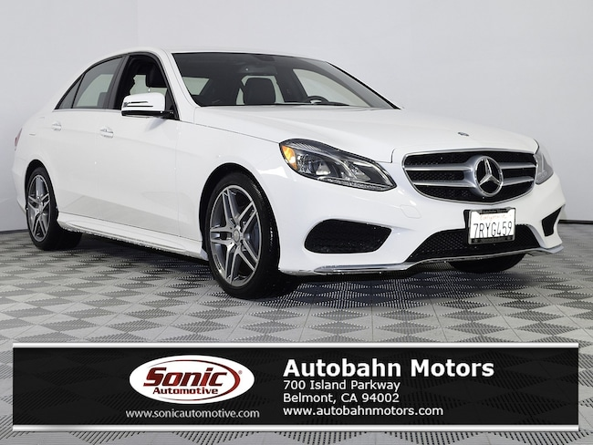 Certified Used 2016 Mercedes-Benz E-Class E 350 Sedan in Belmont