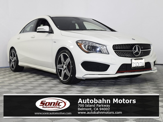 Certified Used 2016 Mercedes-Benz CLA 250 Coupe in Belmont