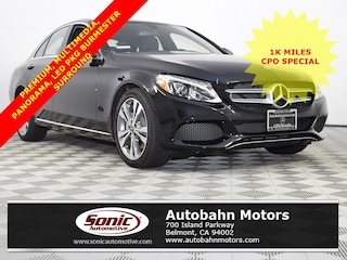 Certified Pre-Owned 2018 Mercedes-Benz C-Class C 300 Sedan for sale in Belmont, CA
