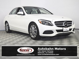 Certified Pre-Owned 2016 Mercedes-Benz C-Class C 300 Sedan for sale in Belmont, CA
