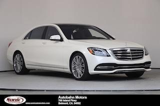 New 2019 Mercedes-Benz S-Class S 450 Sedan for sale in Belmont, CA