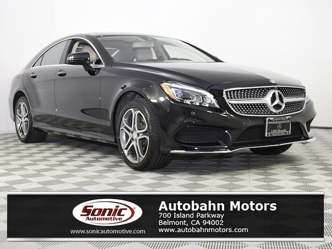 Certified Used 2015 Mercedes-Benz CLS 400 4MATIC Coupe in Belmont