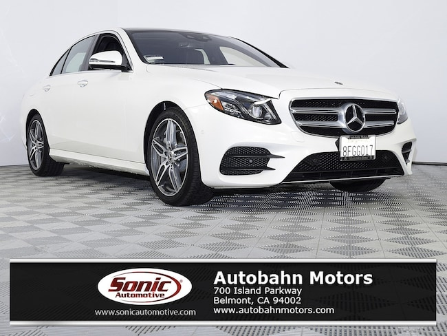 Certified Used 2017 Mercedes-Benz E-Class E 300 Sedan in Belmont
