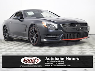Certified Pre-Owned 2016 Mercedes-Benz SL-Class SL 550 Roadster for sale in Belmont, CA