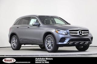 New 2019 Mercedes-Benz GLC 300 4MATIC SUV for sale in Belmont, CA