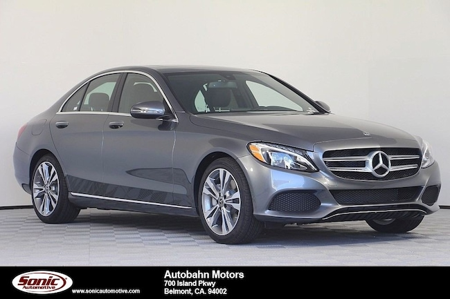 New 2018 Mercedes-Benz C-Class C 300 Sedan in Belmont