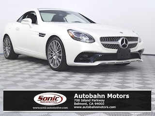 Certified Pre-Owned 2018 Mercedes-Benz SLC 300 Convertible for sale in Belmont, CA