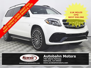 Used 2018 Mercedes-Benz AMG GLS 63 4MATIC SUV in Belmont