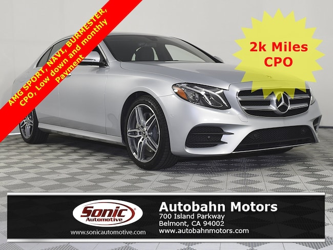 Certified Used 2018 Mercedes-Benz E-Class E 300 Sedan in Belmont
