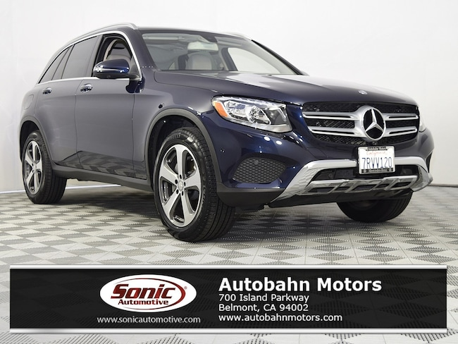 Certified Used 2016 Mercedes-Benz GLC 300 4MATIC SUV in Belmont
