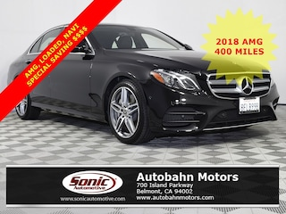 Certified Pre-Owned 2018 Mercedes-Benz E-Class E 300 Sedan for sale in Belmont, CA