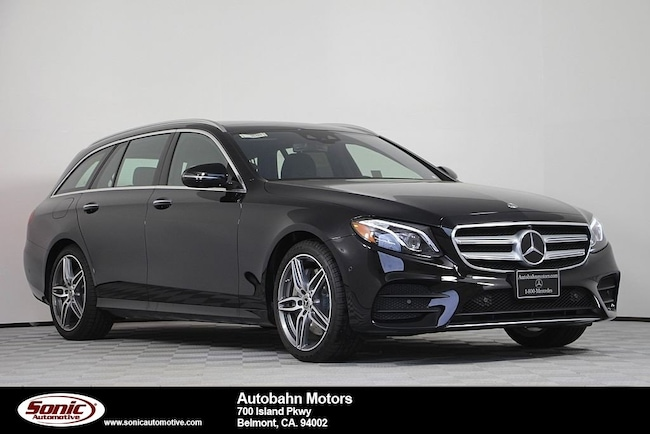New 2019 Mercedes-Benz E-Class E 450 4MATIC Wagon in Belmont