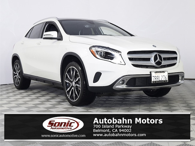Certified Used 2016 Mercedes-Benz GLA 250 SUV in Belmont